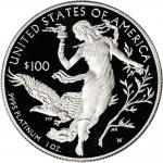 Platinum One Ounce ($100)