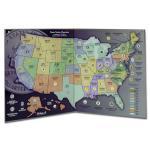Statehood Quarter Maps
