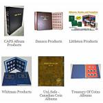 Coin Albums And Folders
