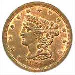 Coronet Half Cent 1840-1857