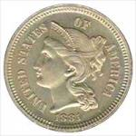 Nickel 3-Cent