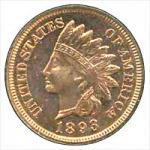Indian Cent - Bronze 1864-1909