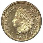 Indian Cent - Copper Nickel 1859-1864