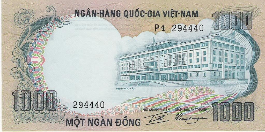 South Vietnam 1000 Dong P 34 South Vietnam World Currency