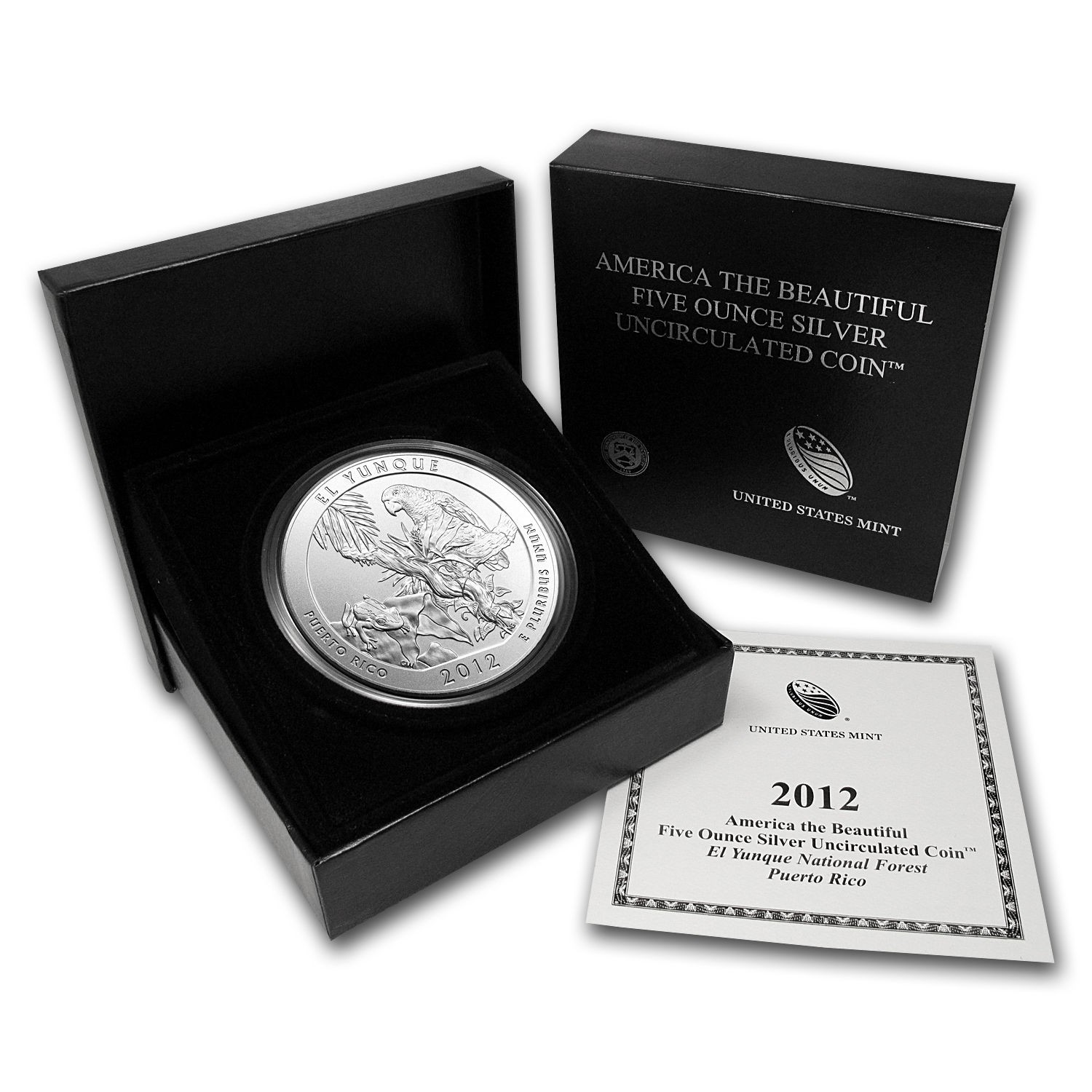 5oz Silver National Park Quarter