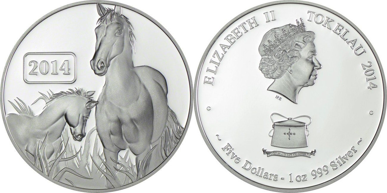Silver Tokelau Horse