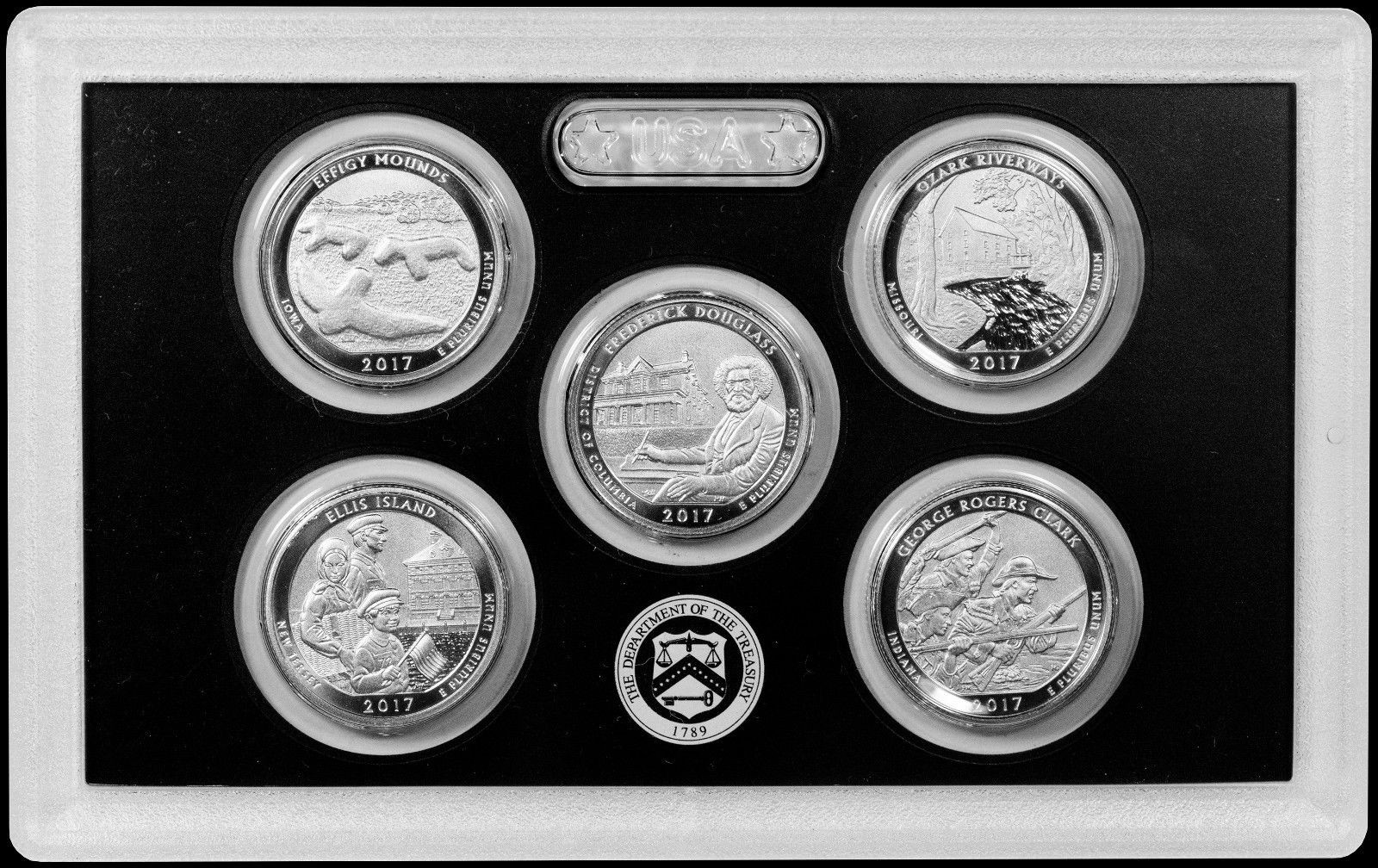 225th Anniversary Enhanced Uncirculated Quarter Set