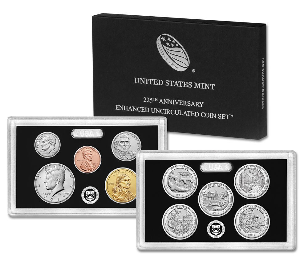 225th Anniversary Enhanced Uncirculated Coin Set