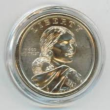 A26 (For SBA, Sacagawea or Presidential Dollar)