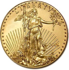 1/10oz American Gold Eagle