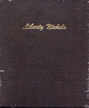 "NO COINS LIBERTY /""V/"" NICKEL DANSCO ALBUMS #7111-1883 to 1912"
