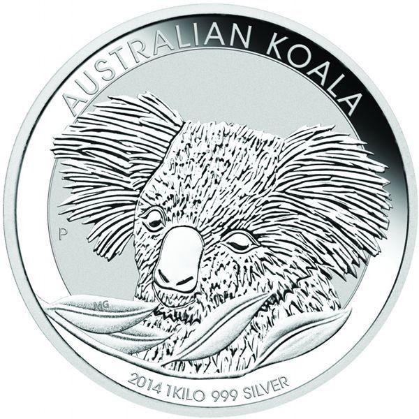 Silver Australian Koala