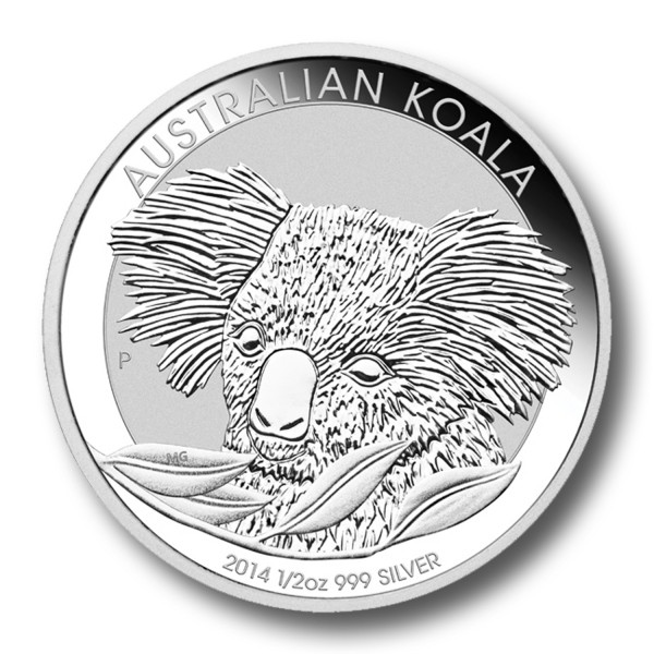 Silver Australian Koala in AirTite Holder
